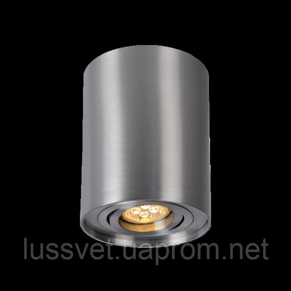 Накладной светильник-цилиндр поворотный SpectrumLED CHLOE GU10 (серебро)