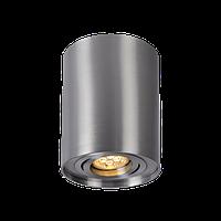 Накладной светильник-цилиндр поворотный SpectrumLED CHLOE GU10 (серебро), фото 1