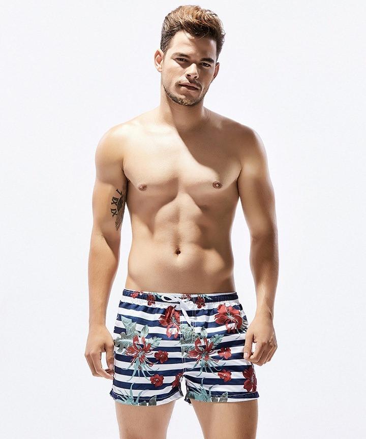 Стильные мужские шорты Seobean - №2334
