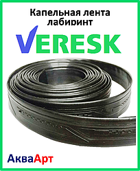 Лента для капельного Veresk лабиринт 20 см / 1000 М