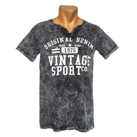 Стильная мужская футболка Vintage - №2394, фото 2