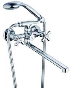 Смеситель для ванны Zegor DST с картриджным переключателем