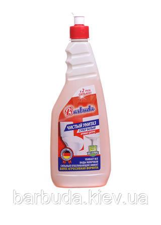 """Засіб для унітазів """"Чистий унітаз"""" супер білий з ароматом цитруса Barbuda"""""""
