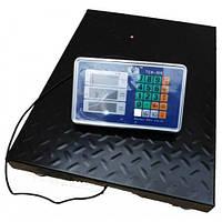 Платформенные электронные ВОДОНЕПРОНИЦАЕМЫЕ весы, 300 кг.