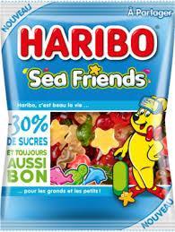 Желейные конфеты Haribo Sea Friends, 160 гр
