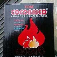 Вугілля для кальяну з ароматом кокоса 1 кг.