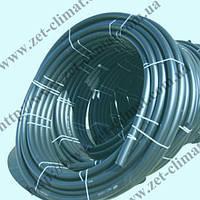 Труба водопроводная из полиэтилена 25 мм. 6,3 атм. ПЭ 80