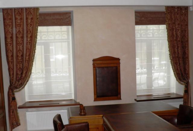 Купить ткань для штор для офиса. Заказать пошив штор для офиса в интернете