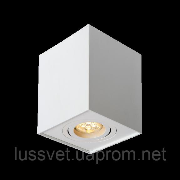 Светильник-куб накладной поворотный SpectrumLED CHLOE GU10 (белый)