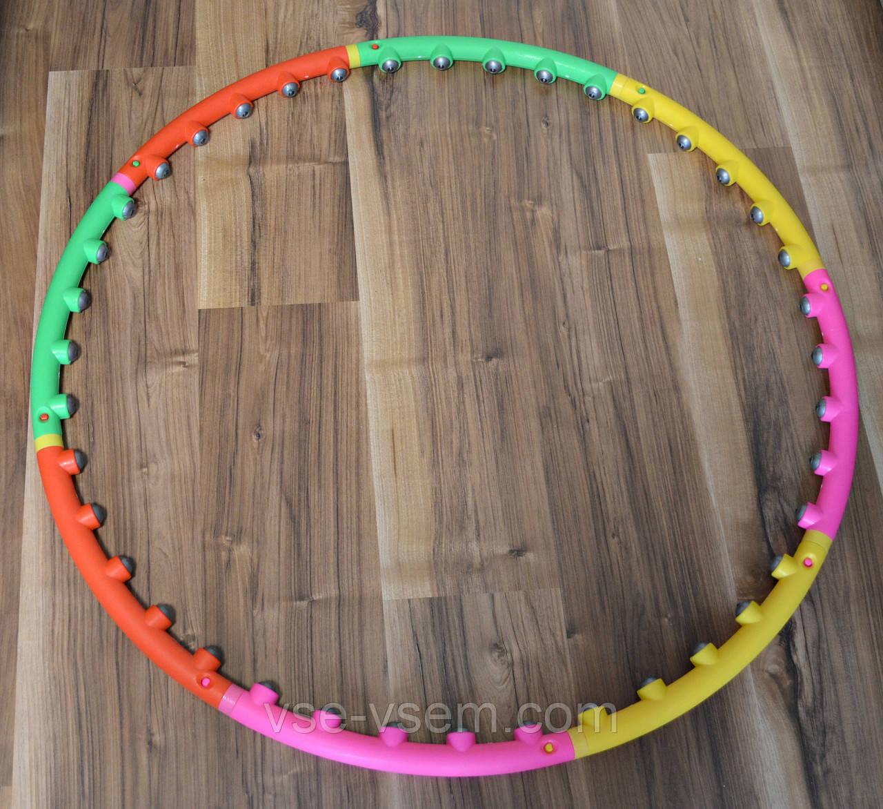 Обруч массажный Massage Hoop Boyu 1108 утяжеленный для похудения (Хулахуп Boyu 1108)
