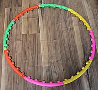 Обруч массажный Massage Hoop Boyu 1108 утяжеленный для похудения (Хулахуп Boyu 1108), фото 1