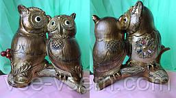 Денежная сова фэн - шуй, символ мудрости и благополучия, высота 21 см.