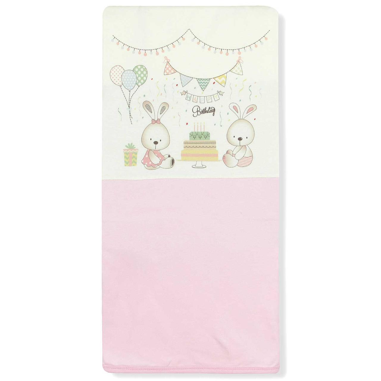 Детское одеяло для новорожденной девочки Bebitof  Bebitof (One Size)