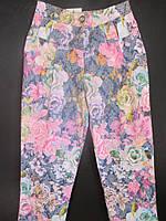Цветные детские коттоновые штаны.
