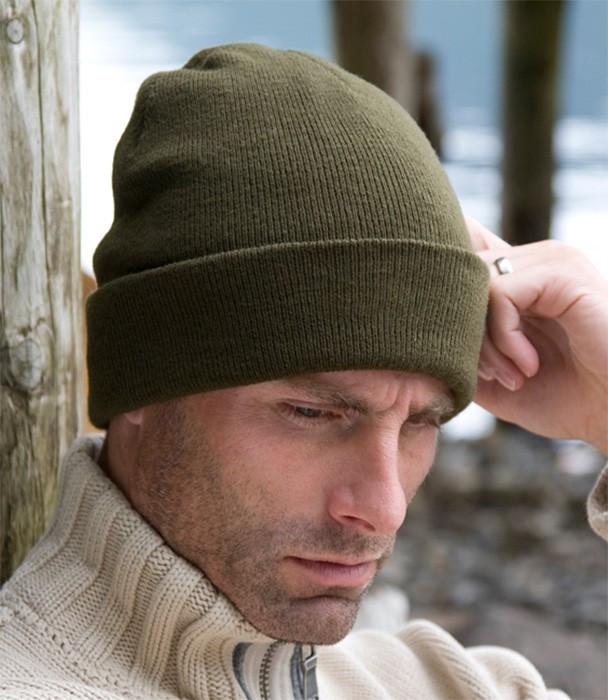 Зимняя шапка с флисовой вставкой Thinsulate