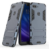 Чехол для Xiaomi Mi 8 Lite / Mi 8 Youth / Mi 8X 6.26'' Hybrid Armored Case темно-синий