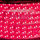 Светодиодная лента 220В красная smd 2835-120 лед/м 12Вт/м, герметичная. Бухта 50 метров., фото 3