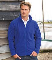 Мужская флисовая куртка на микрофлисе