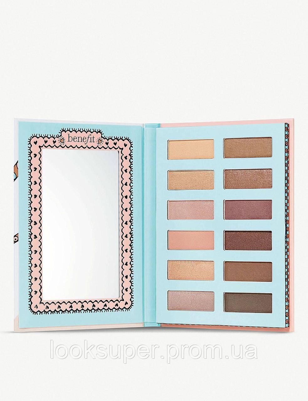Набор теней BENEFIT Vanity Flare Nude Eyeshadow Palette