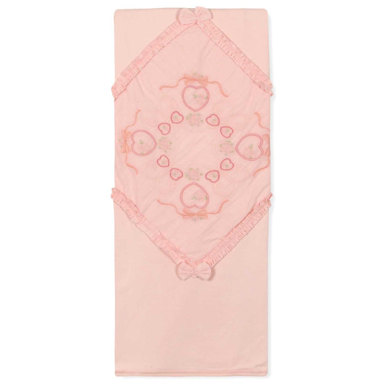 Одеяло для новорожденной девочки Caramell (One Size)