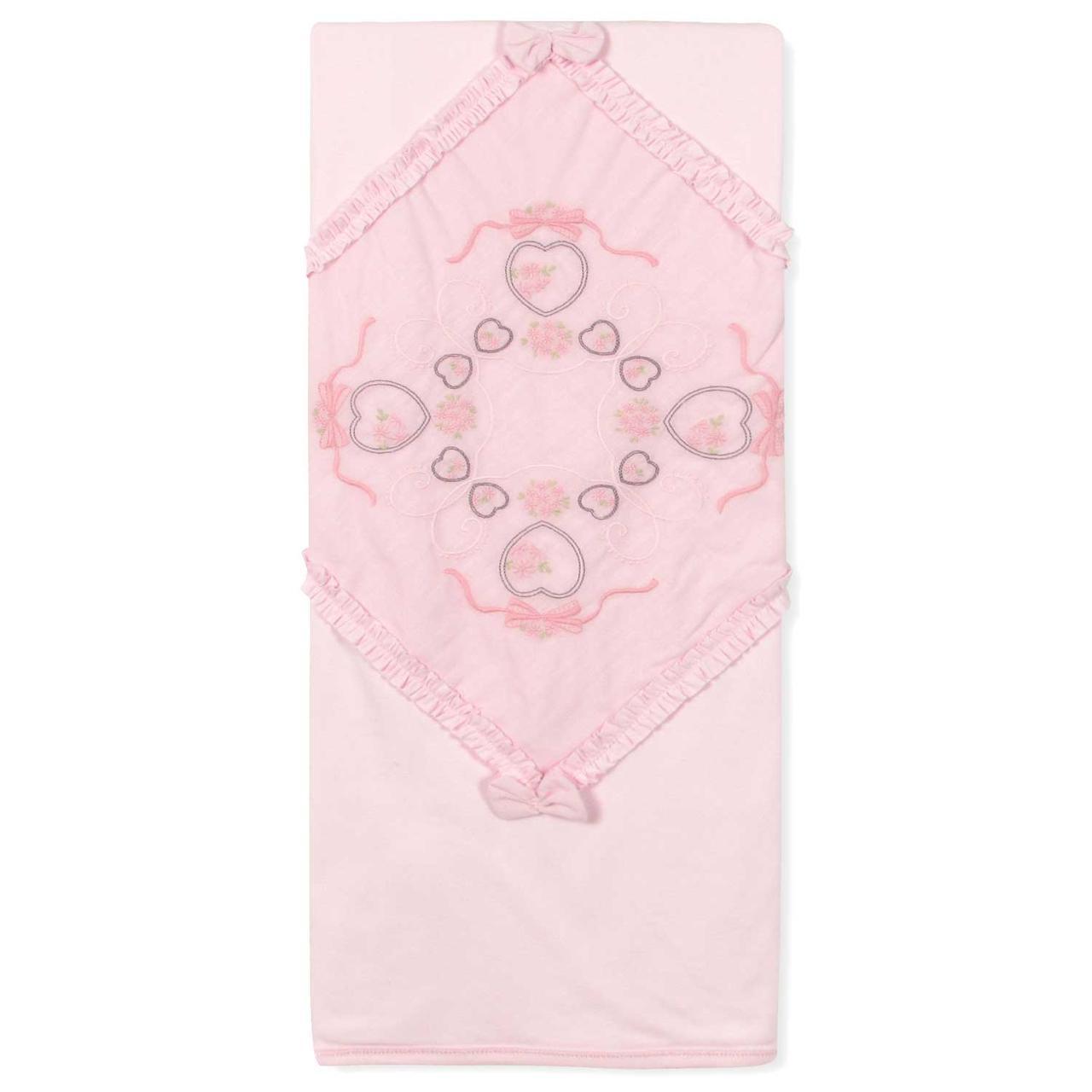 Одеяло для новорожденной девочки Caramell
