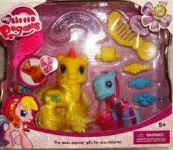 Лошадки пони Little Pony  в наборе