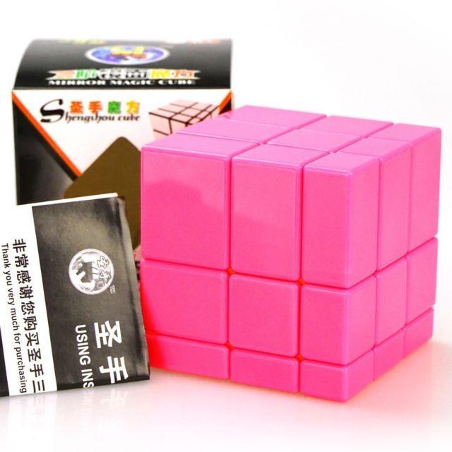 Кубик рубика ShengShou Mirror blocks Pink (ШенгШоу Миррор блокс) Рожевий