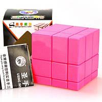 Кубик рубика ShengShou Mirror blocks Pink (ШенгШоу Миррор блокс) Рожевий, фото 1