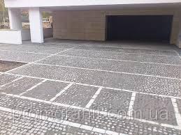 Гранитная плитка тротуарная колотая 10х10х5 отборная