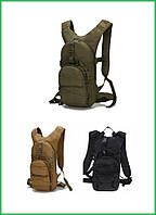 Рюкзак тактический городской, велорюкзак, молодёжный, слинг, компактный TacticBag 15 л.