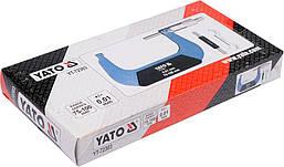 Микрометр 75-100мм YATO YT-72303, фото 2