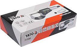 Микрометр электронный 0-25мм с цифровым дисплеем YATO YT-72305, фото 2