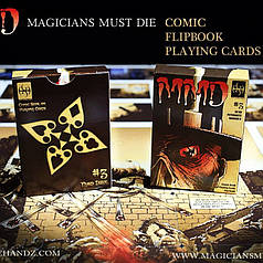 Карты игральные | MMD#3 Comic Deck by De'Vo and Handlordz