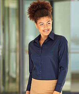 Женская рубашка с длинным рукавом OxFord