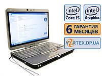 Ноутбук HP EliteBook 2760p 12.5 Сенсор. / Поворот. (1280x800) / Intel Core i5-2540M (2x2.5GHz) / RAM 4Gb / SSD 120Gb/АКБ 3.5 ч./Сост. 8.5/10 БУ