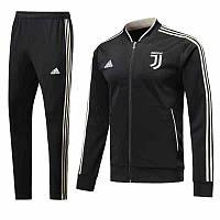 Спортивный костюм Ювентус на длинной змейке (Тренировочный клубный костюм Juventus)