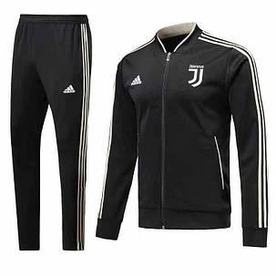 Спортивный костюм Ювентус на длинной змейке (Тренировочный клубный костюм Juventus), фото 2