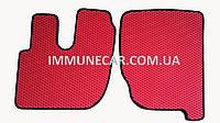 Авто ковры EVA на грузовик RENAULT PREMIUM 2005- красного цвета