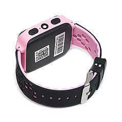 ➨Смарт-часы Smart Baby UWatch Q529 Pink Фонарь Камера GPS трекером Bluetooth IP66 Кнопка SOS Сим