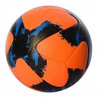 М'яч  футбольний EN 3277 розмір 5, ПУ 4мм, ламінований, 410г, в кульку