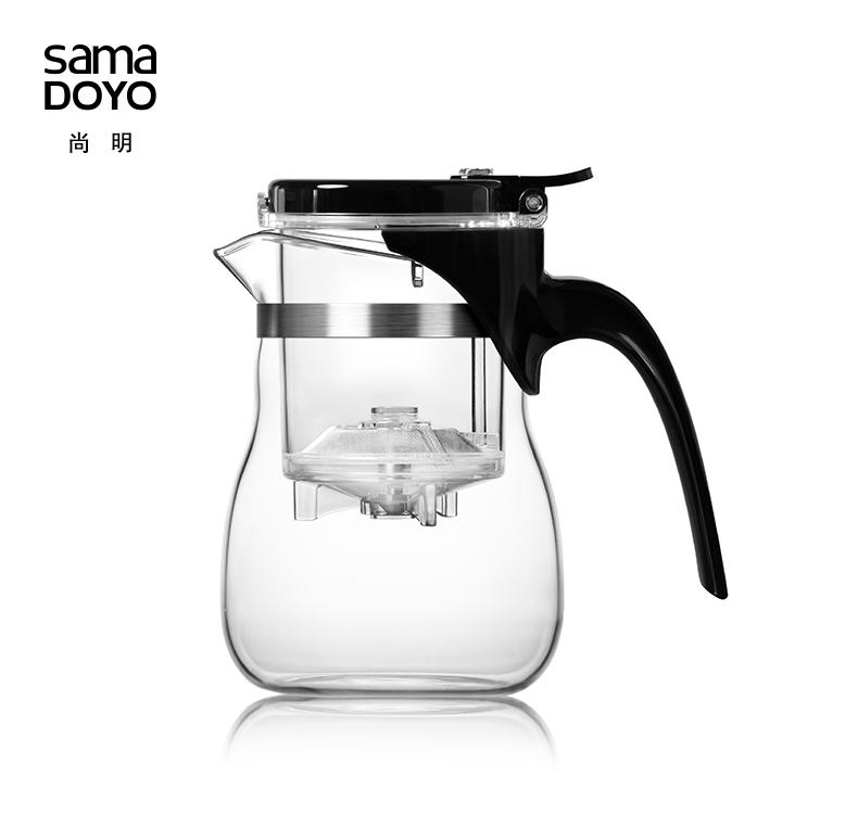 Чайник заварочный с кнопкой Sama Doyo А-10, 600 мл