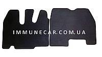 Авто ковры EVA в кабину RENAULT Magnum чёрного цвета