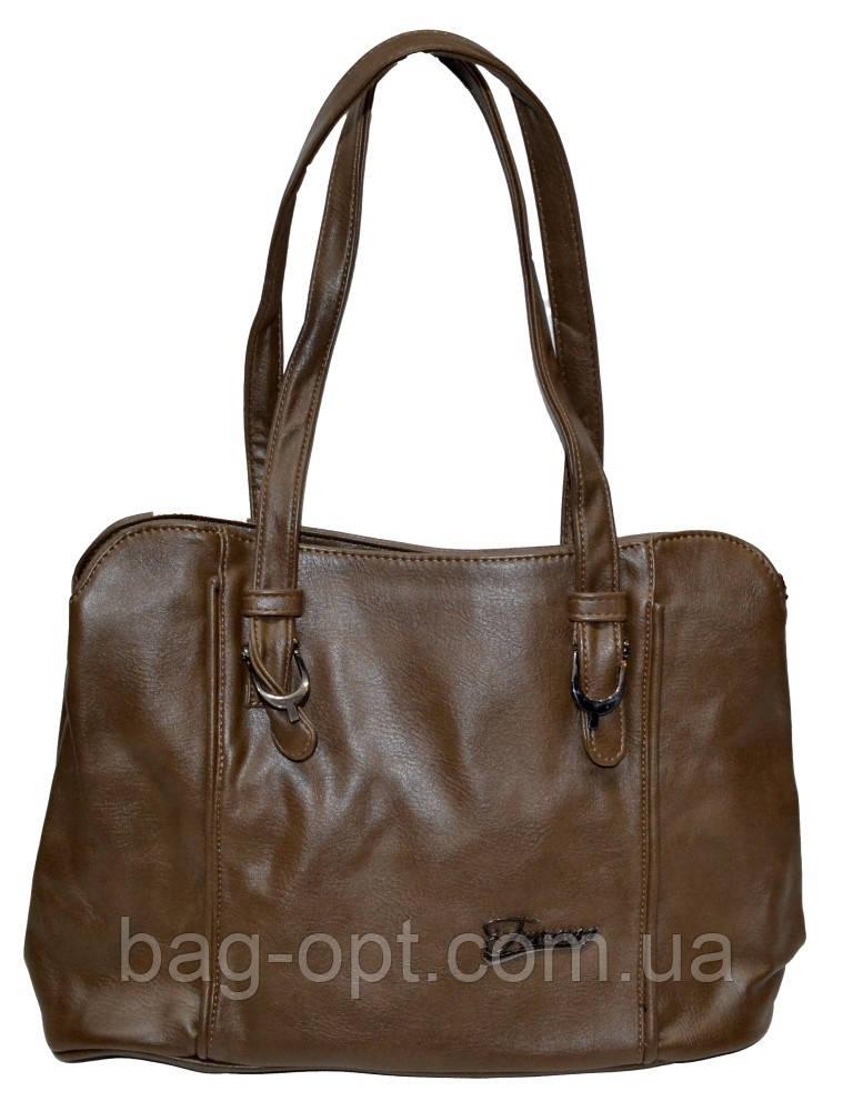 Женская сумка на 2 отдела 26*36*13 см