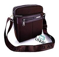 dd51a4fb6d95 Черная Мужская сумка через плечо Dilasica сумка-планшетка новинка. Интернет  магазин Lisbag. г. Умань. 5. 99% положительных отзывов. (492 отзыва). Promo