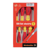 Набір викруток SDI Set S2.5-5.5/PZ1/22 Weidmuller 1128540000