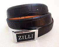 Кожаный ремень ZILLI , фото 1