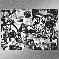 Плакат Kiss 005