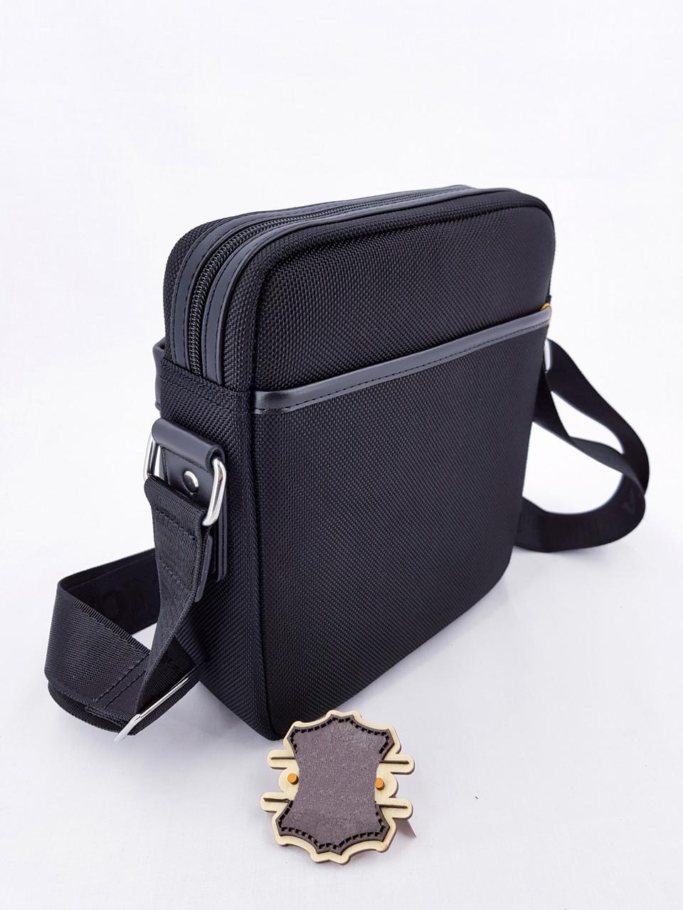 ae1967e86bd4 Черная Мужская сумка через плечо Dilasica сумка-планшетка новинка, цена  469,80 грн., купить в Умани — Prom.ua (ID#877163620)