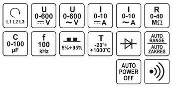 Цифровой мультиметр YATO YT-73086, фото 3