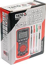Цифровой мультиметр YATO YT-73086, фото 2